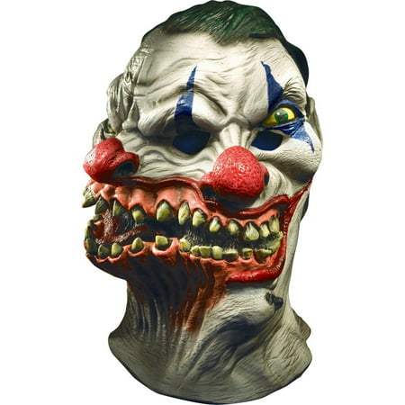 Siamese Clown Mask Halloween Costume Accessory - It Clown Halloween Mask