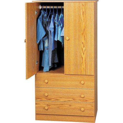 Prepac Casual Bedroom Armoire