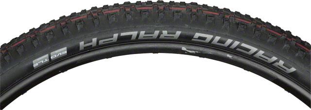 New Schwalbe Racing Ralph Liteskin Tire 29 x 2.25 EVO Folding Bead Black w//Addix