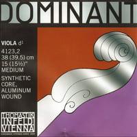 "Thomastik-Infeld Dominant 16""-17"" Viola D String - Medium Gauge - Aluminum Wound Synthetic Core"