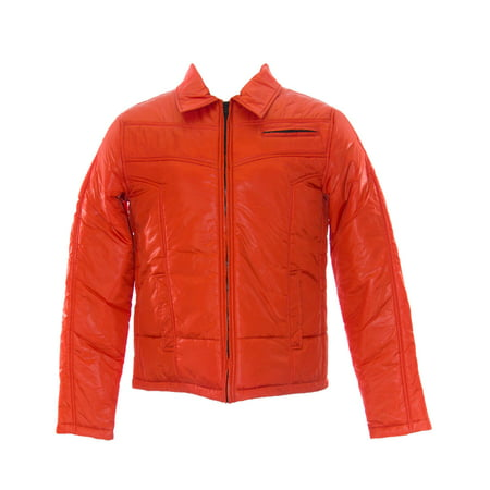 Cold Method Men's Puffer Ski Jacket Red Coral