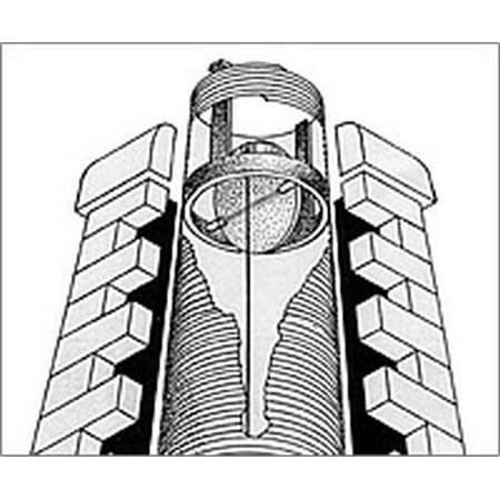"""Round Spider Damper by American Chimney Supplies - 6"""""""