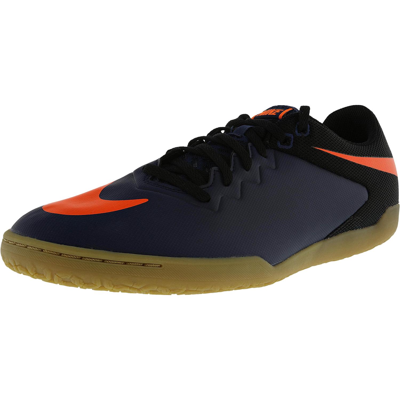 Nike Men's Hypervenomx Pro Ic Midnight Navy / Total Orang...