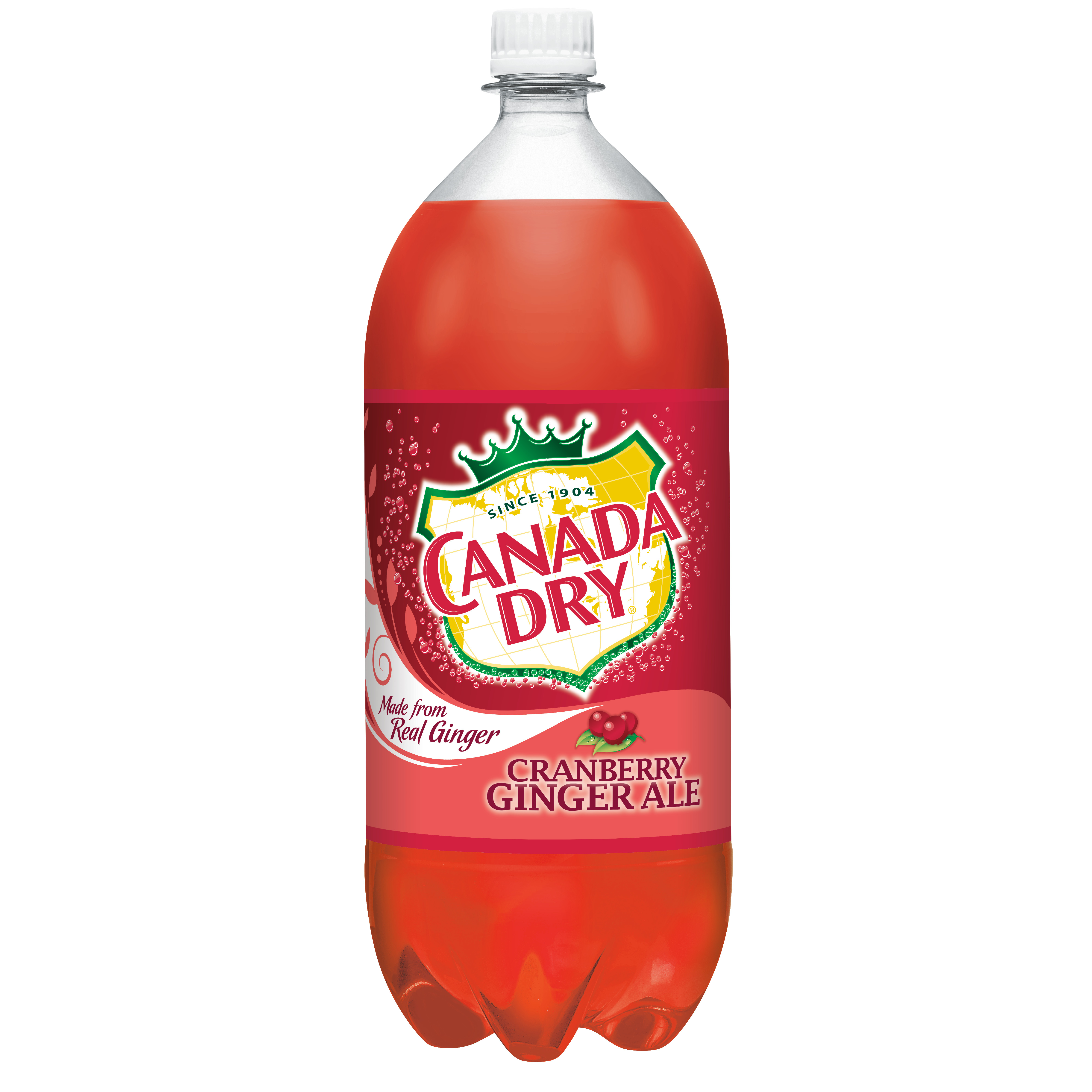 Canada Dry Cranberry Ginger Ale, 2 L