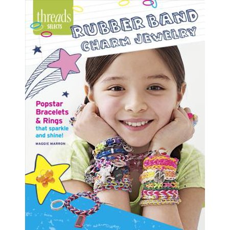 - Rubber Band Charm Jewelry : Popstar Bracelets & Rings That Sparkle and Shine