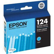 Epson, EPST124220, T124120/220/320/420 Ink Cartridges, 1 Each