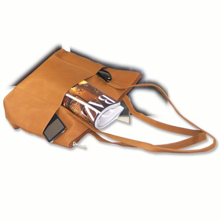 Tan Leather Medium Tote Woman Hbag Wallet Leatshoulder Bag Faux Leather Medium Tote Bag
