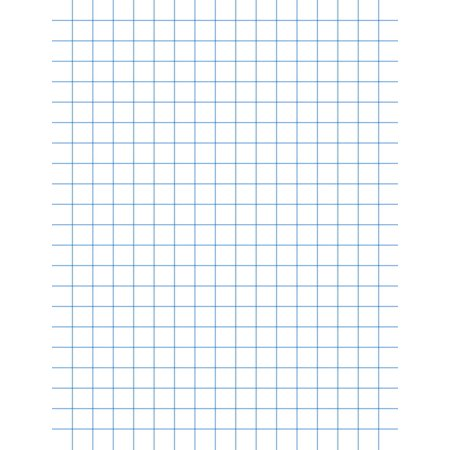 school smart graph paper pad with chipboard back 8 1 2 x 11 in 15