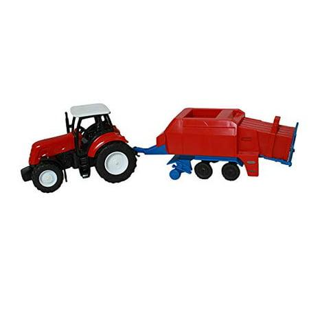 1:32 Kubota Farm Tractor And Trailer - image 2 of 4