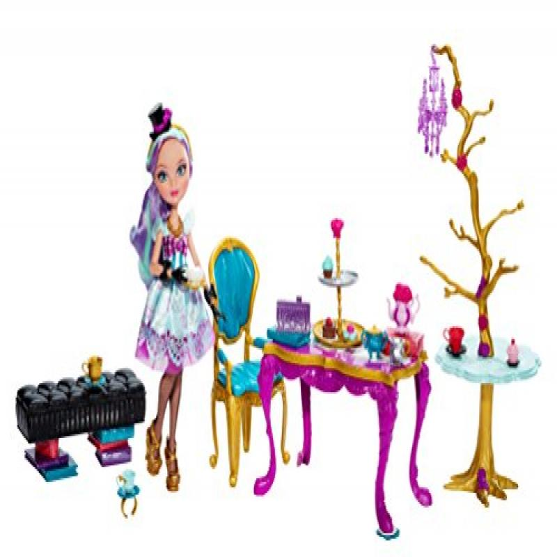 Ever After High Hat-Tastic Madeline Hatter Doll and Party Display (Discontinued by manufacturer) by Ever After High