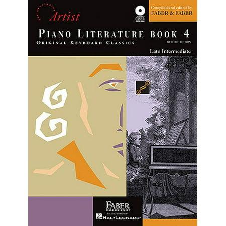 Piano Literature - Book 4 : Developing Artist Original Keyboard Classics