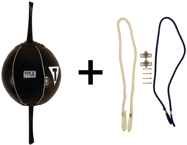 Title Boxing Mexican Style 2-N-1 Pro Double End Bag Package
