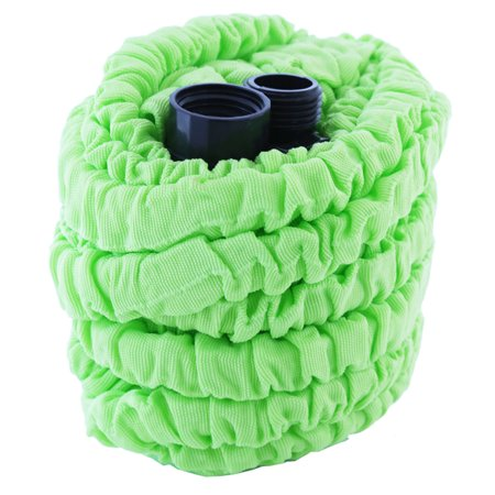 Telebrands 50 Foot Pocket Hose Lightweight With Spray Nozzle twist Color