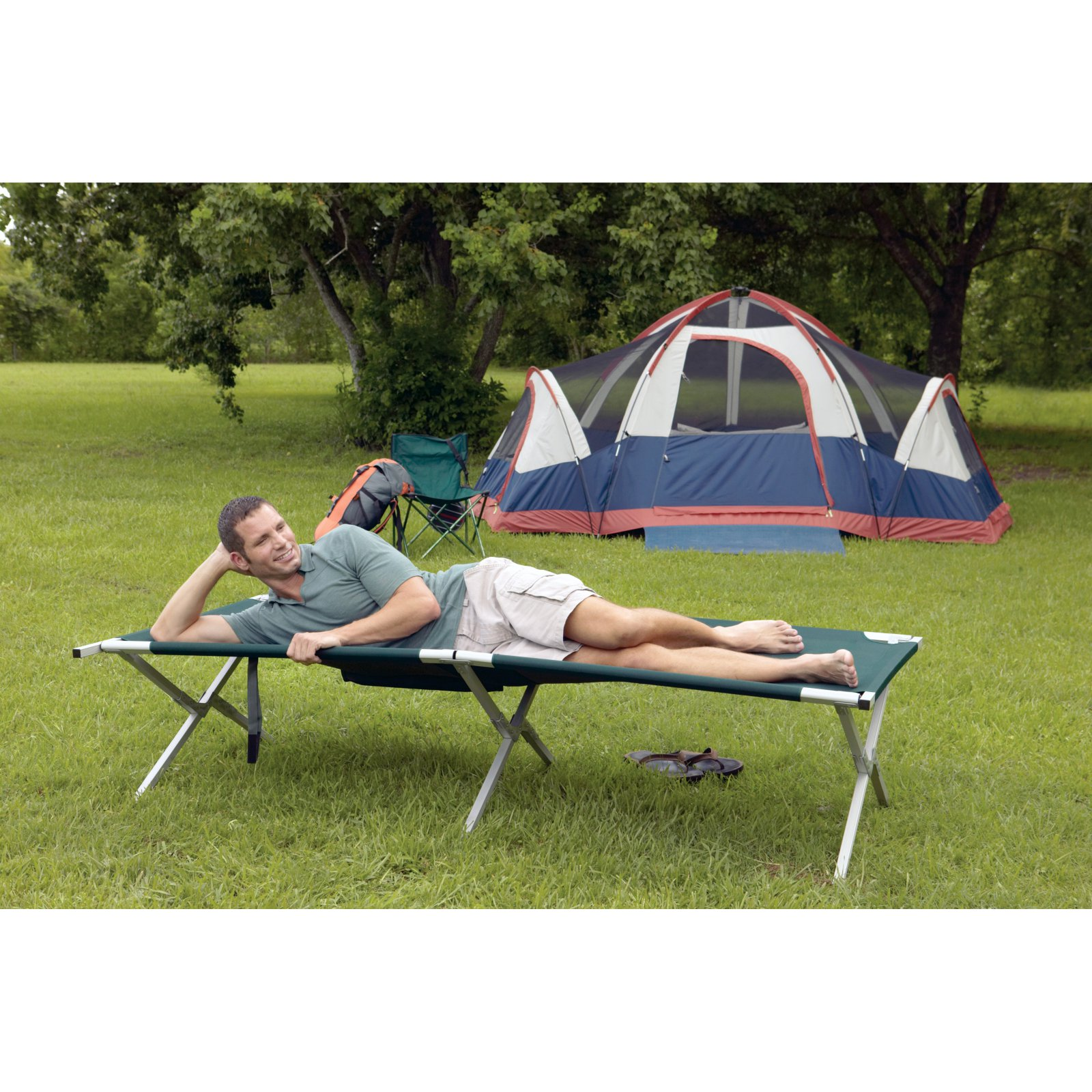 Texsport King Kot Giant Folding Camp Cot by Texasport