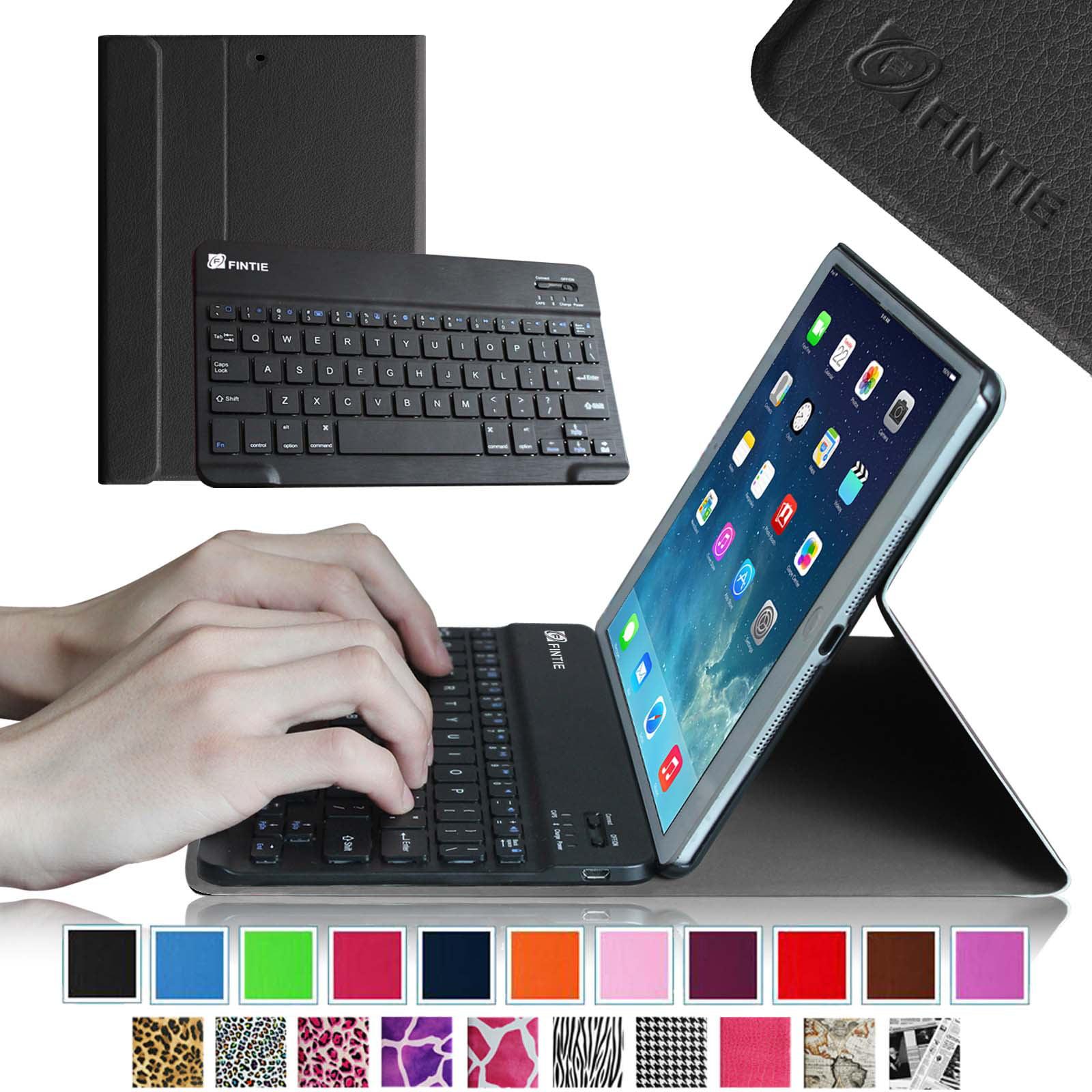 iPad mini 3 / iPad mini 2 / iPad mini Keyboard Case - Fintie Slim Shell Cover with Removable Bluetooth Keyboard, Black