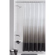Mainstays Twilight Embossed PEVA 13 Piece Shower Curtain with Roller Glide Hooks/Rings Set