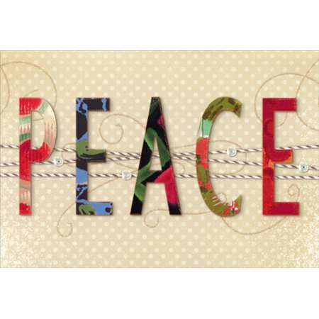 Image Arts Peace Christmas (Peace Square Card)