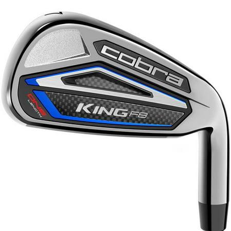 Cobra King F8 Men's One Length Golf Iron Set (5-GW, Steel Shaft, Regular Flex, Left