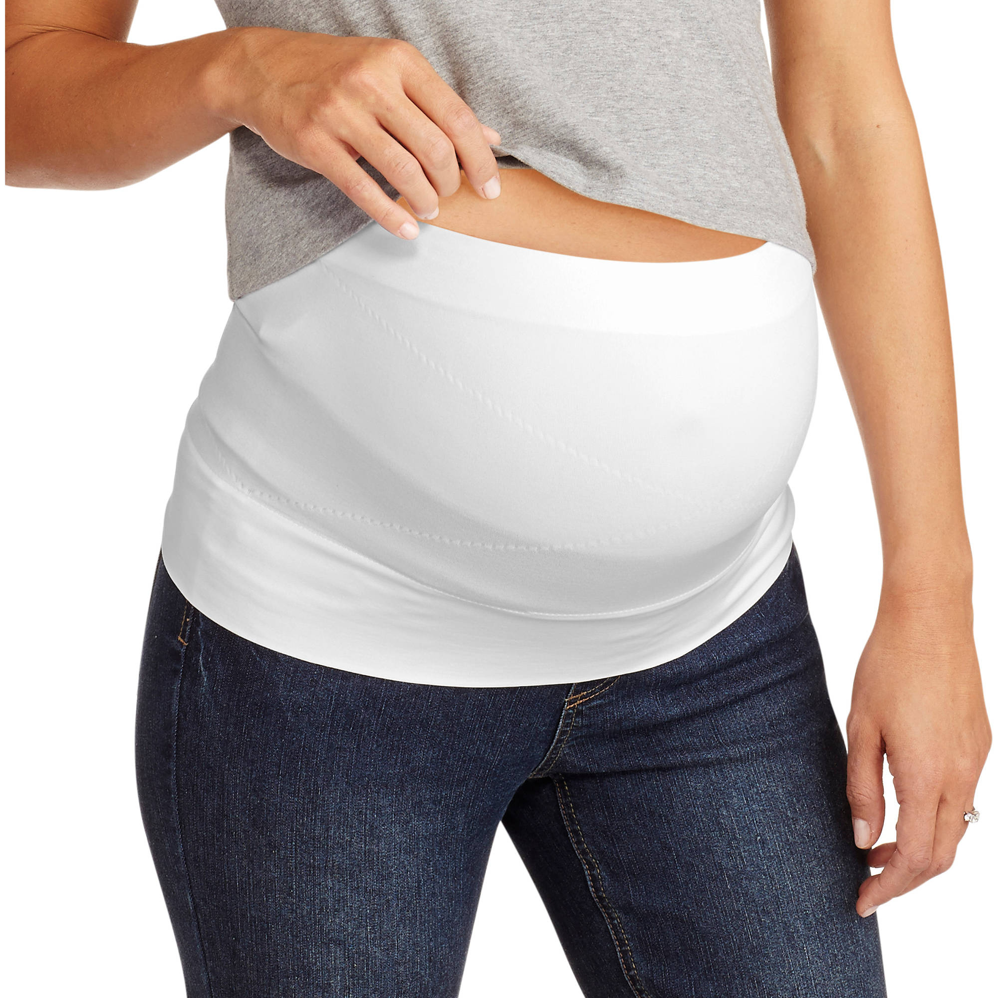 Labor of Love Maternity Seamless Belly Support Band--For Before & After Baby