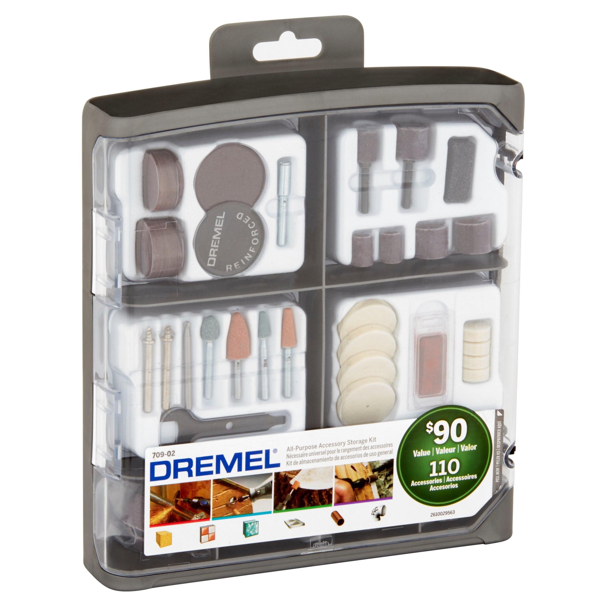 Dremel 709-02 110-Piece All-purpose Accessory Storage Kit