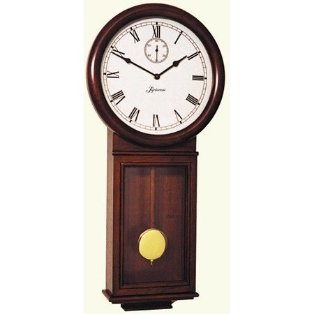 Loricron Quartz 31 Chiming Wall Clock In Deep Cherry