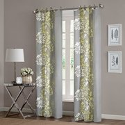 Home Essence Ally 100 Percent Cotton Printed Window Panel Available In Multiple Colors And Sizes
