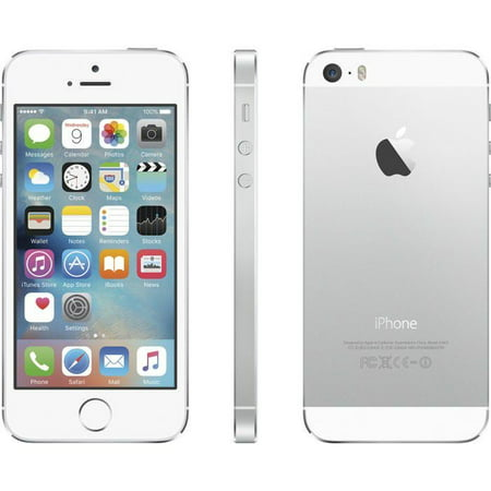 iPhone 5s 16GB Silver (Virgin Mobile) Refurbished