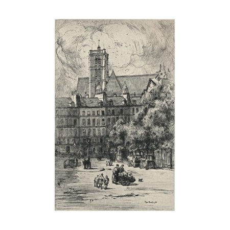 Place Baudoyer, 1915 Print Wall Art By Frank Milton Armington