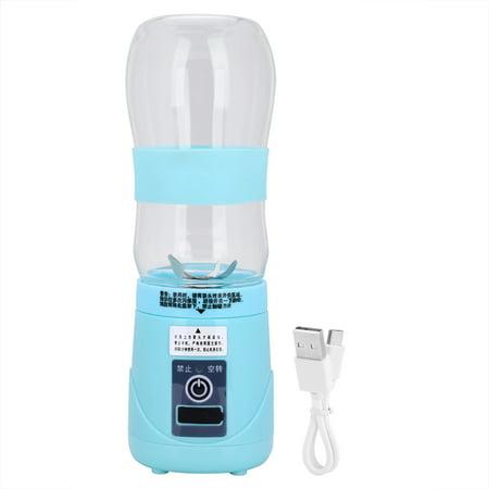 Qiilu 420ml USB Electric Fruit Juicer Smoothie Maker Portable Blender Shaker Bottle,Electric Fruit Juicer, Portable Smoothie Maker - image 1 of 6