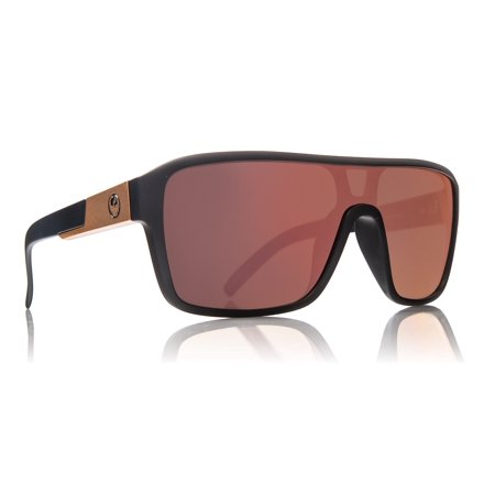 Dragon Alliance 720-2343 Remix Matte Black / Rose Gold Ionized (White Dragon Sunglasses)