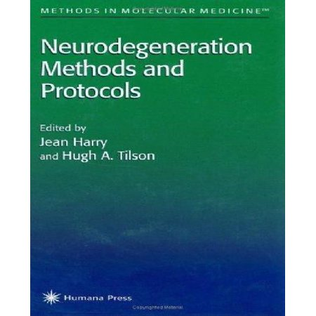 Neurodegeneration Methods And Protocols