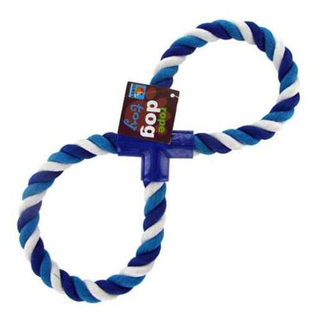Figure Eight Dog Rope Toy - Set of 12