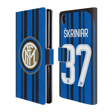 sneakers for cheap 5d4c9 44c1c OFFICIAL INTER MILAN 2017/18 PLAYERS HOME KIT 1 LEATHER BOOK WALLET CASE  COVER FOR SONY PHONES 2