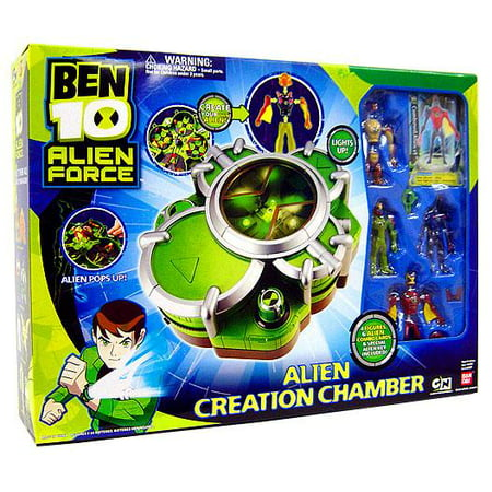 Ben 10 Alien Force Aliens (Ben 10 Alien Force Alien Creation Chamber Playset [Green])