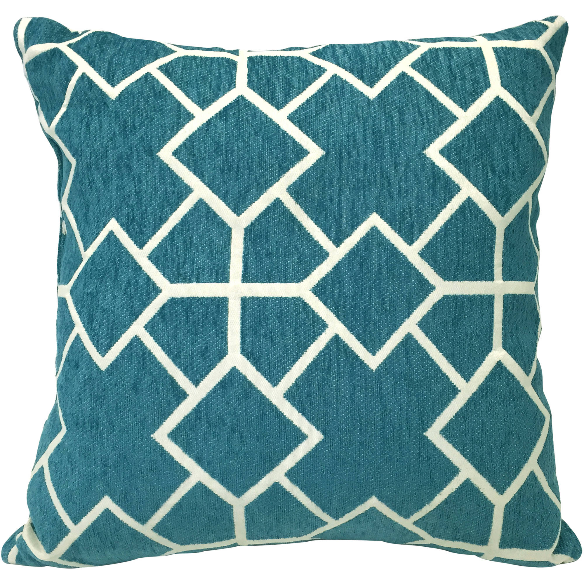 Better Homes and Gardens Geometrics Chenille Reversible Pillow