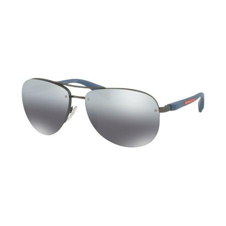 Sunglasses Prada Linea Rossa PS 56 MS DG12F2 GUNMETAL RUBBER