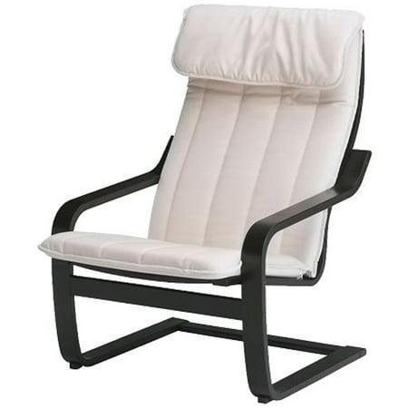 Ikea Chair, black-brown, Ransta natural 2204.81720.3022 ()