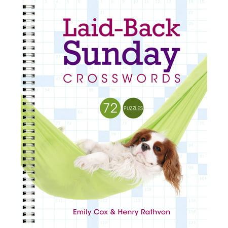 Laid-Back Sunday Crosswords