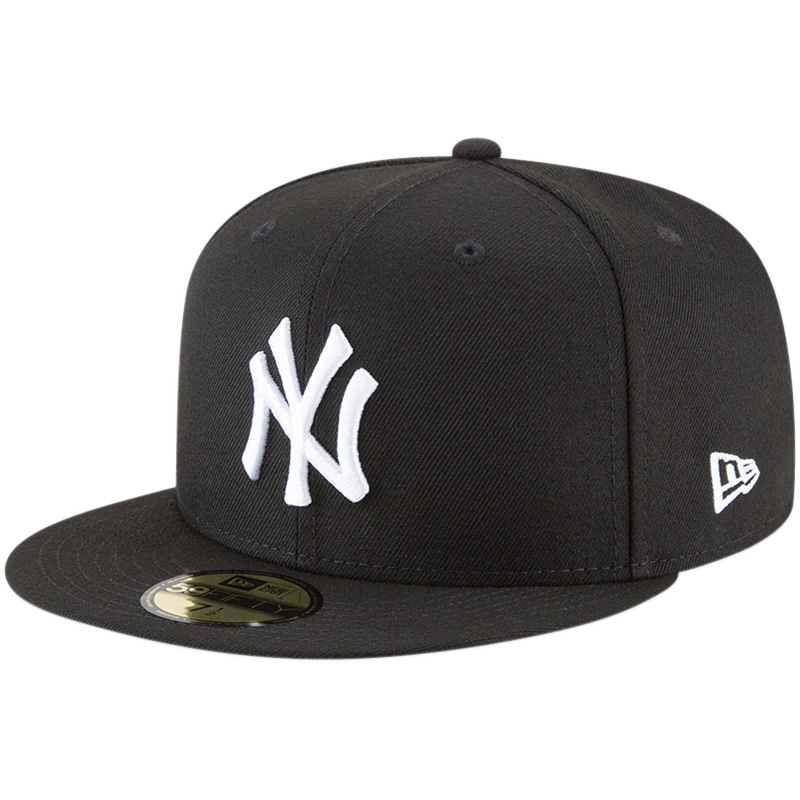 New York Yankees New Era Basic 59FIFTY Fitted Hat - Black