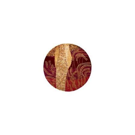 Momeni NEWWANW-01BUR2680 Tapis de course New Wave 2,5 pi x 8 pi - Bordeaux - image 3 de 4