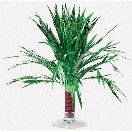 Amscan - Mini Foil Palm Tree Centerpiece (Foil Palm Tree Silhouette)