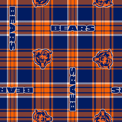 NFL Chicago Bears Fleece Fabric