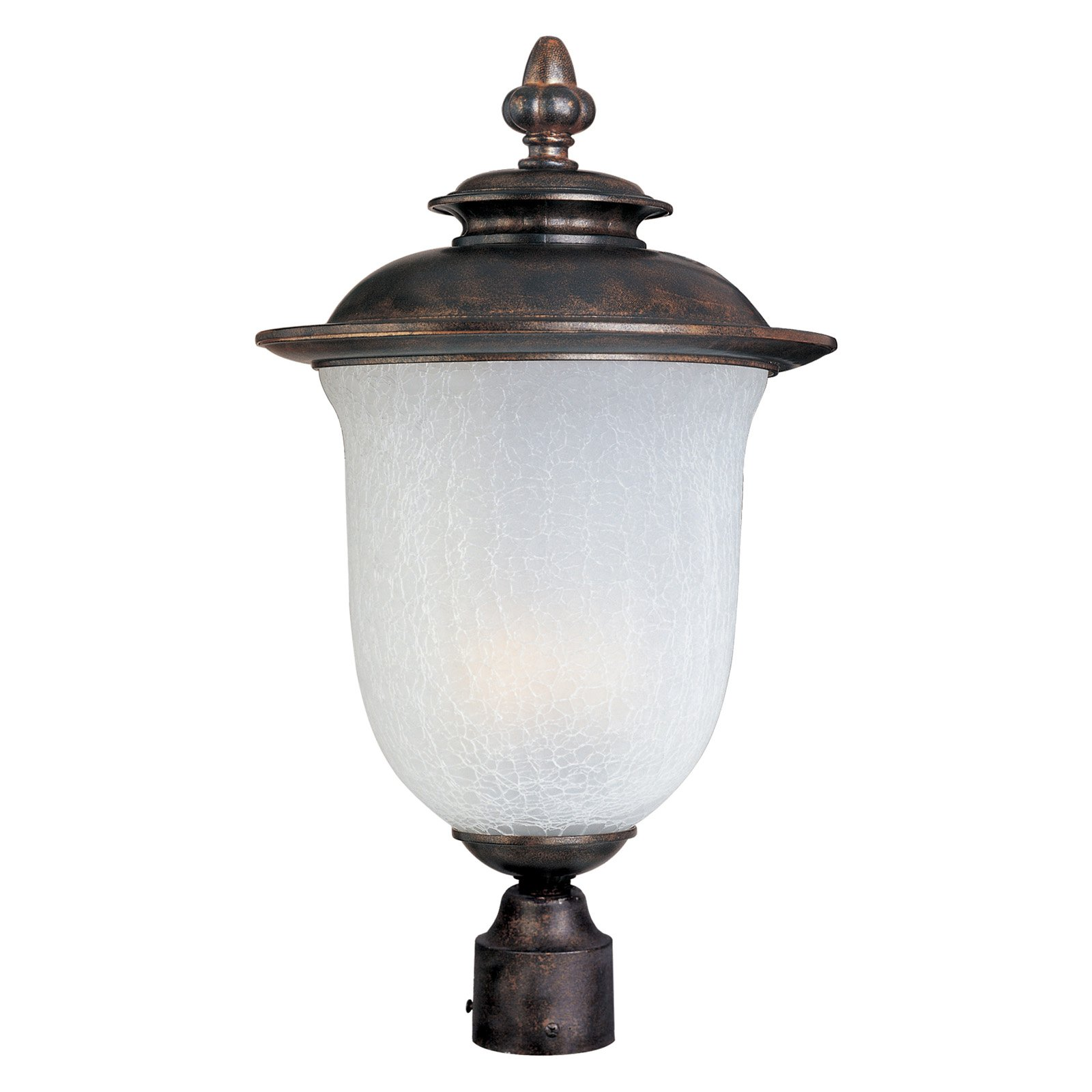 Maxim Cambria Outdoor Post Lantern 22H in. Cherry ENERGY STAR by Maxim