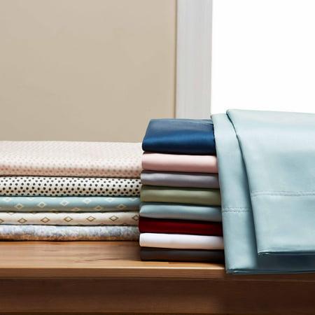 Better Homes & Gardens 300 Thread Count Wrinkle Resistant Bedding Sheet Set, King