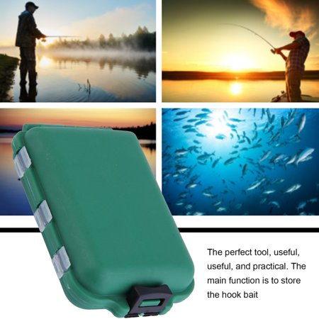 Fishing Accessories Case Fish Lure Bait Hooks Tackle Outdoor Sports Tool - image 3 de 8