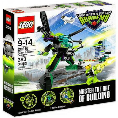 Master Builder Academy Robot & Micro Designer Set LEGO 20216
