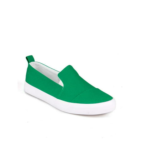 Nature Breeze Slip on Women's Sneakers in - Green Light Up Shoes