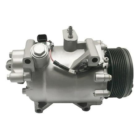 RYC Remanufactured AC Compressor and A/C Clutch IG580 Fits 2007 2008 2009 2010 2011 2012 2013 2014 2015 Honda CR-V 2.4L