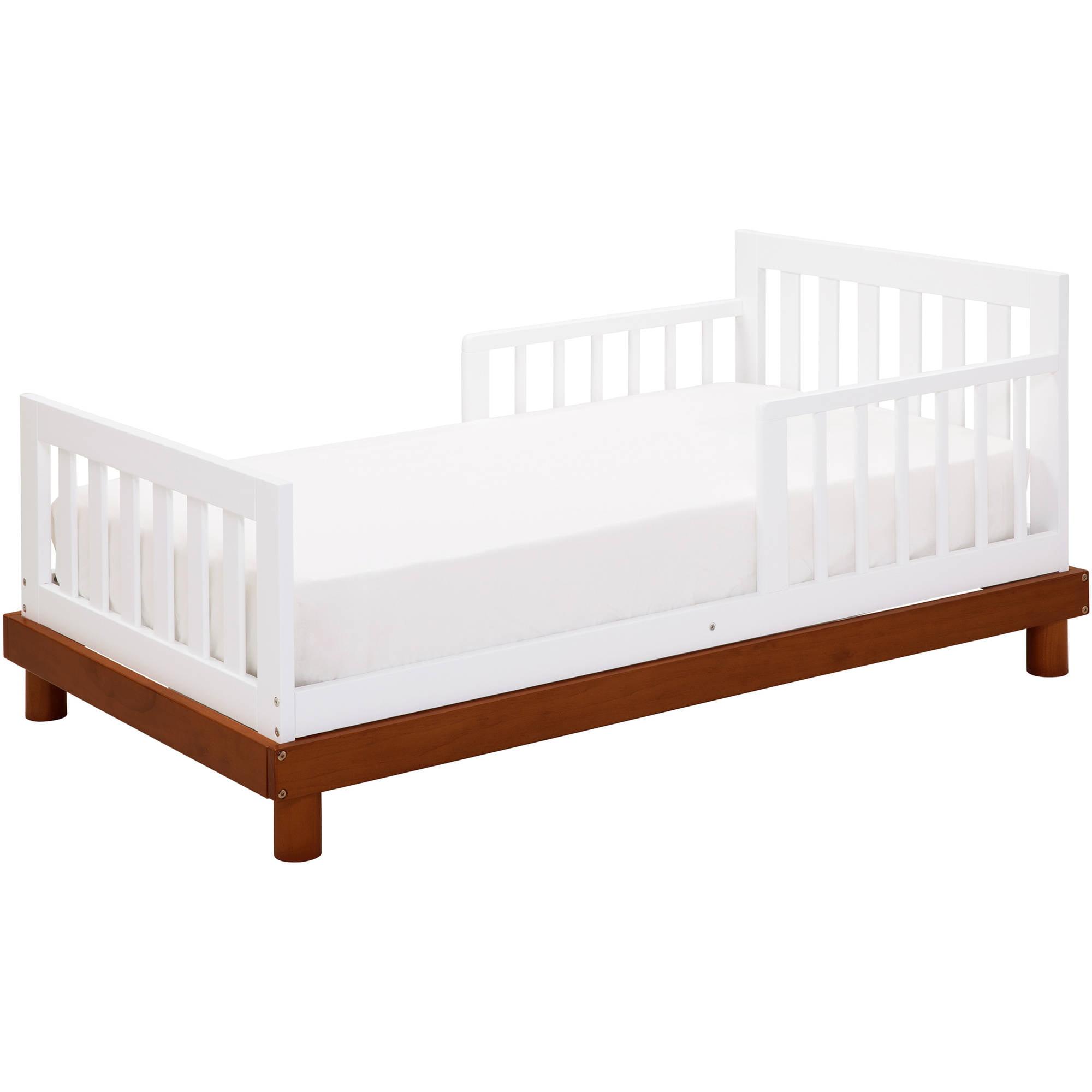 Baby Mod Olivia Toddler Bed Amber White