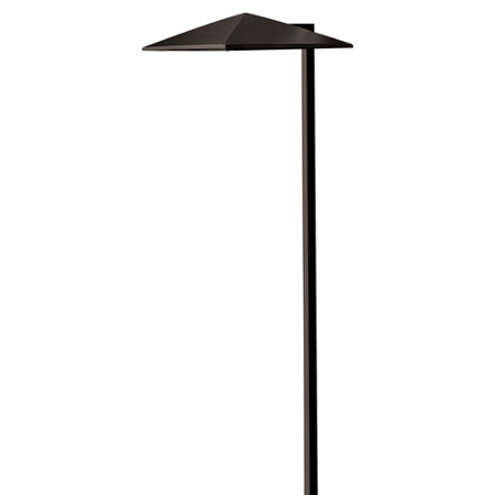 1 Light 8 Cast - Lighting Accessories 1 Light With Satin Black 3.80w Cast Aluminum 8 inch 3.8 Watts